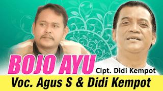 Lirik Lagu Bojo Ayu (Dan Artinya) - Didi Kempot & Agus S