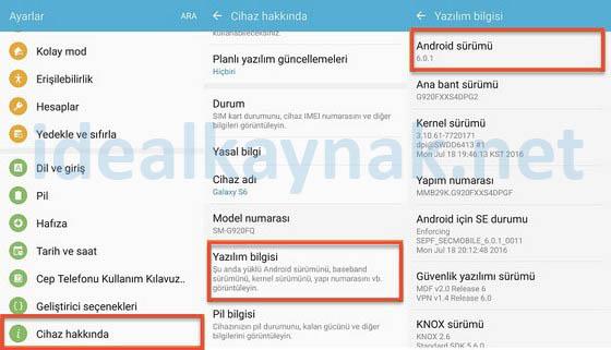 Android Sürümü Nedir? Android Sürüm Bilgisi Nasıl Öğrenilir?