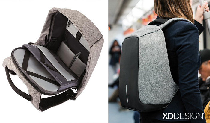 15+ Of The Best Traveler Gift Ideas Besides Actual Plane Tickets - Anti Theft Backpack Where The Zipper Is Fully Hidden Inside And No Thief Will Find How To Open It