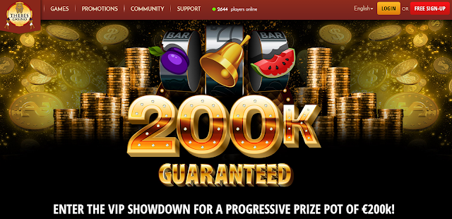 $200K Tournament at Thebes Casino