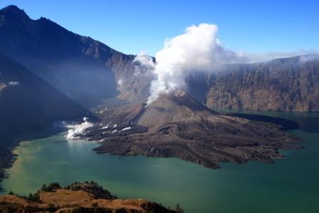 Gunung Rinjani, Lombok, NTB