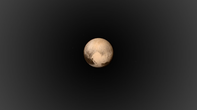 Wallpaper: Pluto. The Planet