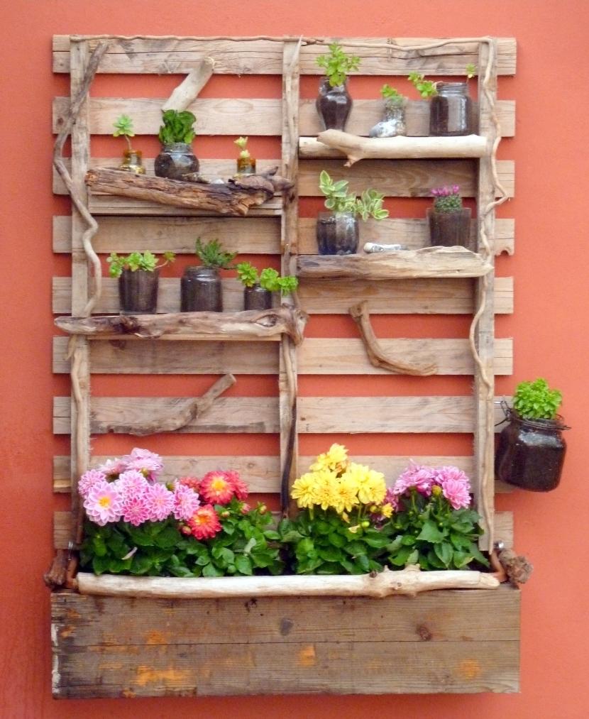 Le mie idee creative fioriera verticale for Fiori per esterno