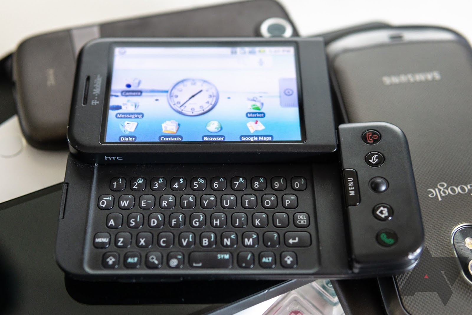 HTC Dream fue el primer dispositivo con Android