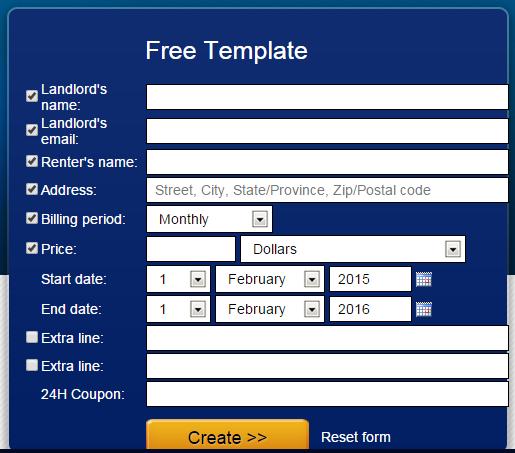 How to Generate Rent Receipt Format Online