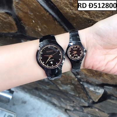 Đồng hồ đeo tay cặp đôi dây đá Rado RD Đ512800