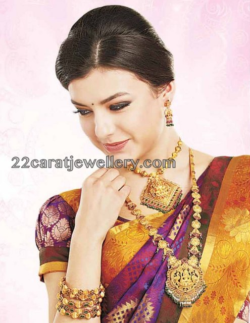 Traditional Jewellery Ad From Lalitha Jewellery