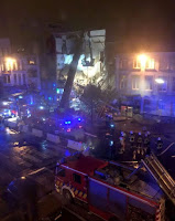EXPLOSION COLLAPSES BUILDING, INJURES UP TO 20: BELGIUM