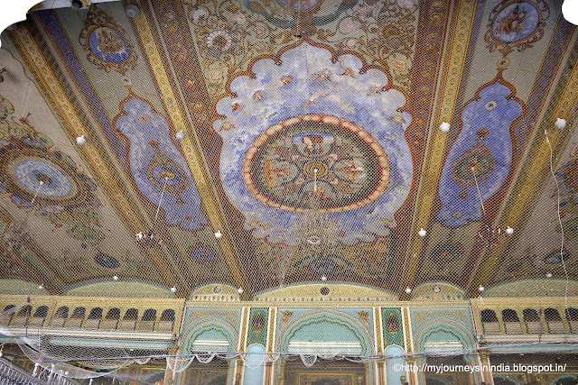 Paintings at Ceilings of Mysore Palace