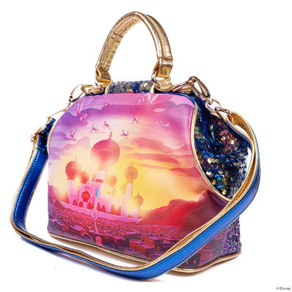 Disney Aladdin handbag from back with long detachable strap