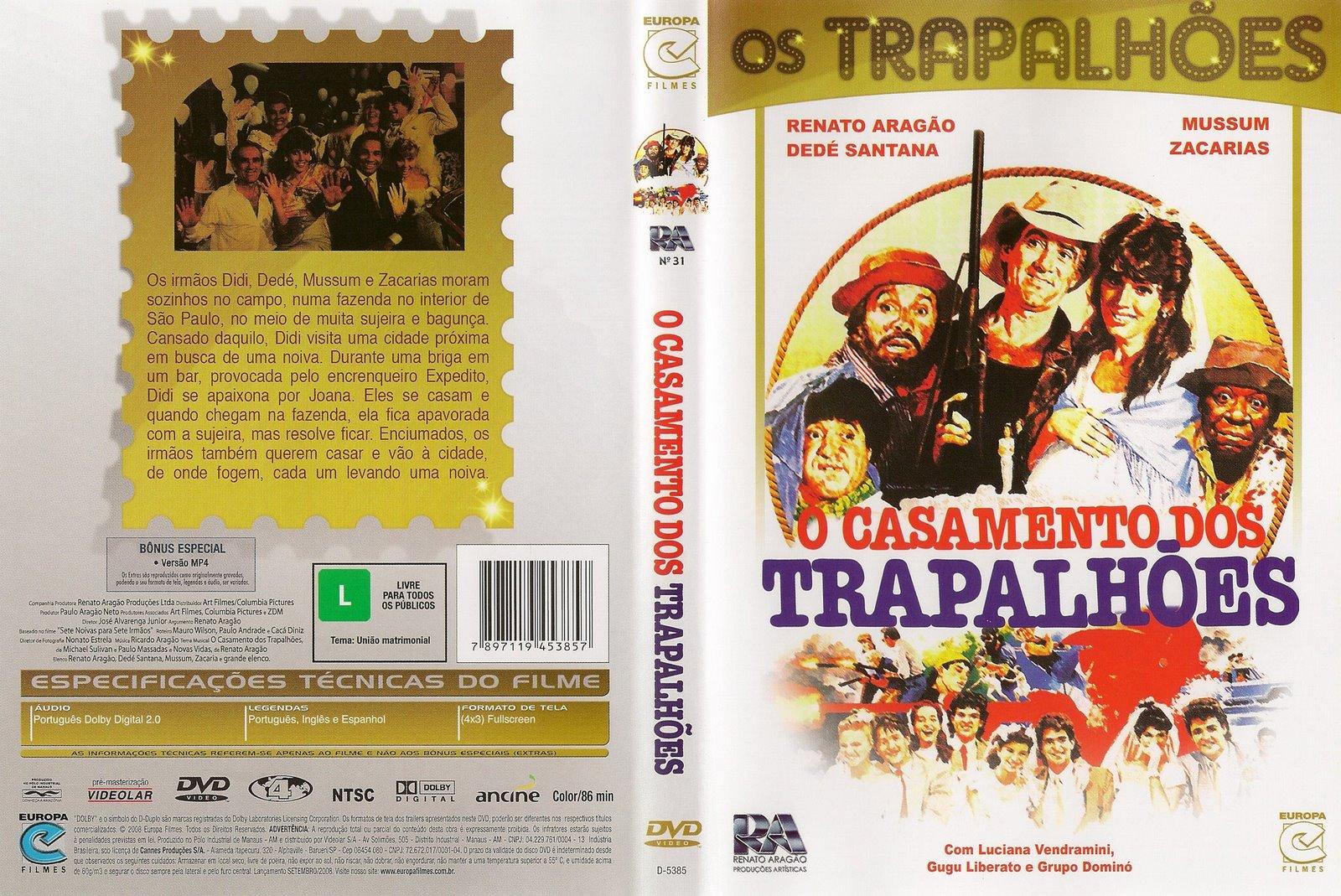 todos os filmes dos trapalhoes rmvb