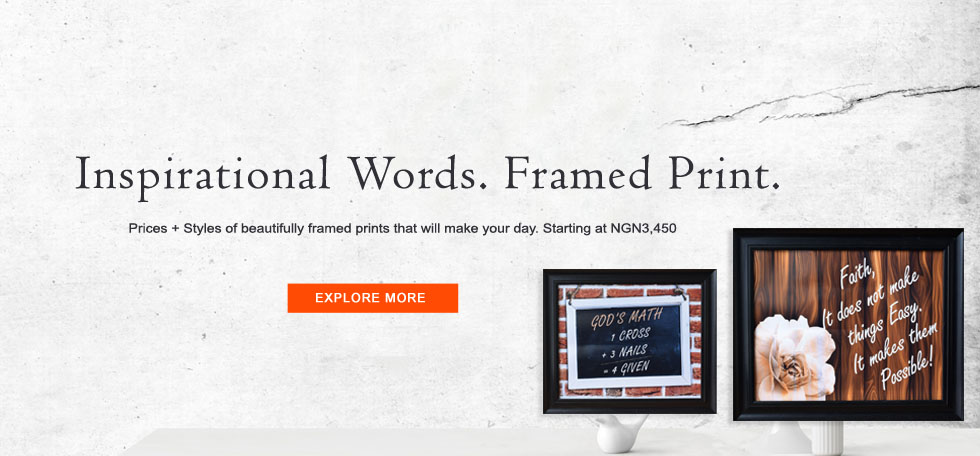 Inspirational Frames in Nigeria
