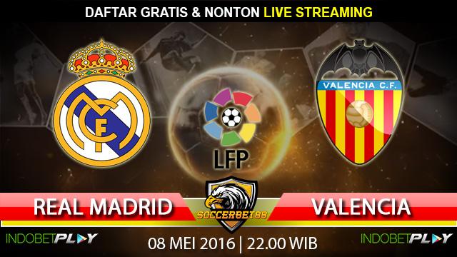 Prediksi Real Madrid vs Valencia 08 Mei 2016 (Liga Spanyol)