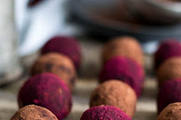 Chocolate and Peanut Butter Truffles