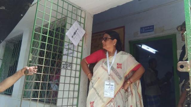 बंगाल में चुनावी हिंसा चरम पर, सुरक्षाकर्मियों से भिड़ी टीएमसी सांसद