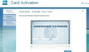 american express activate your card uk