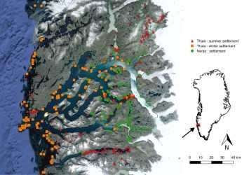 Coastal erosion threatens archaeological sites along Greenland's fjords