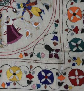 My Textile Notes Indian Traditional Embroidery  How To