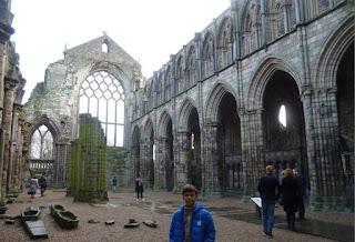 Ruinas de la Abadía Holyrood.
