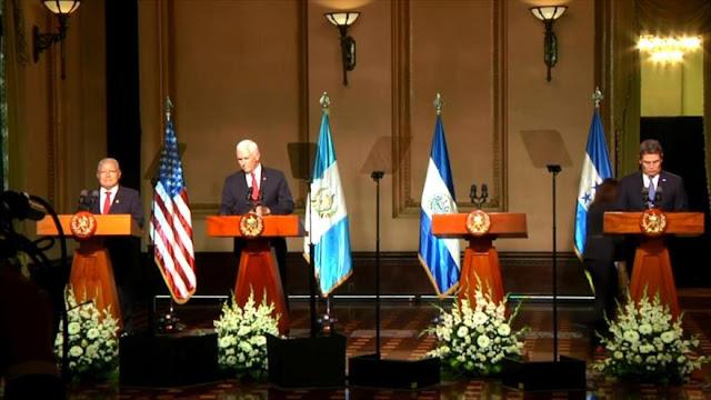 EEUU advierte a Centroamérica que la migración debe parar