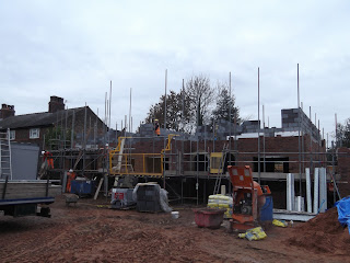 Houses on Site in Lymm