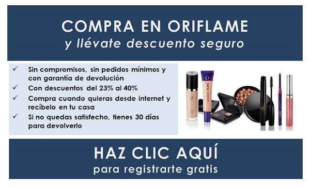 comprar en Oriflame España con descuento
