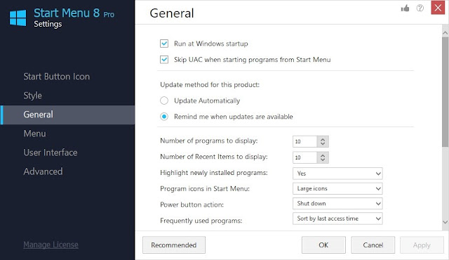 IObit Start Menu 8 Pro Full imagenes
