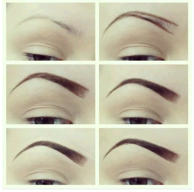 Simple Steps To Draw A Perfect Brows Madamaproko