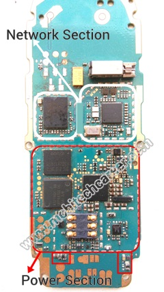 Mobile phone pcb circuit board par main section or parts section