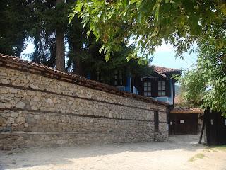 Koprivshtitsa sokakları