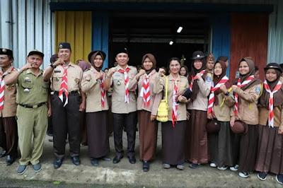 Bupati Parosil Mabsus Resmi Buka Kemah Kebangsaan Lampung Barat