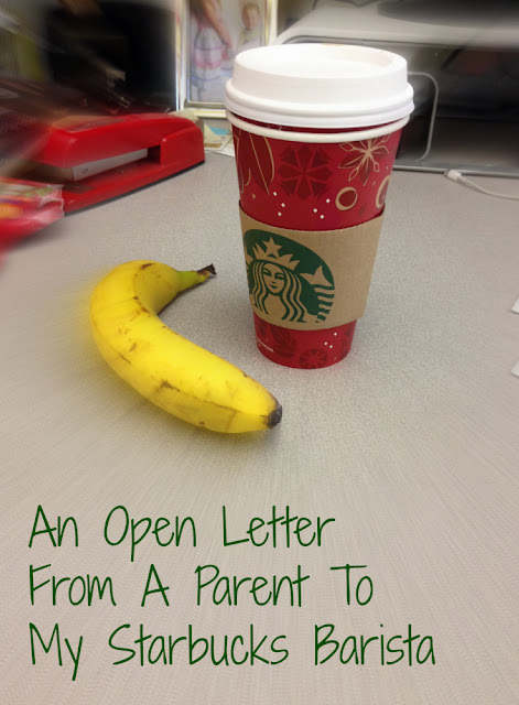 An open letter from a parent to my Starbucks barista