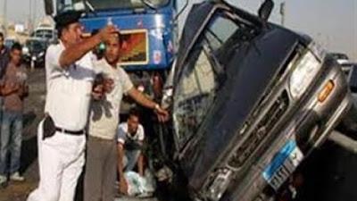 حادث تصادم أثناء نقل مساجين بميت غمر