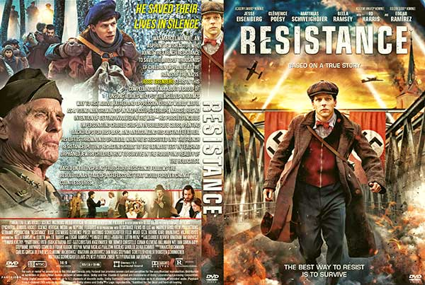 Resistance (2020) DVD Cover
