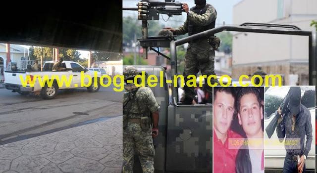 """TRAS FUERTE OPERATIVO  MILITAR CAE el líder de """"LOS CHIMALIS"""", brazo armado de """"LOS CHAPITOS"""""""