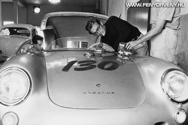 """James Dean """"átkozott"""" Porsche-ja"""