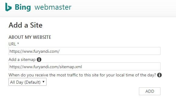 Cara Daftar dan Submit Sitemap ke Bing Webmaster