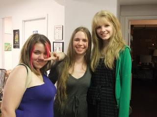 THE DUFF release party: Kody Keplinger, Leila Austin, Emilia Plater