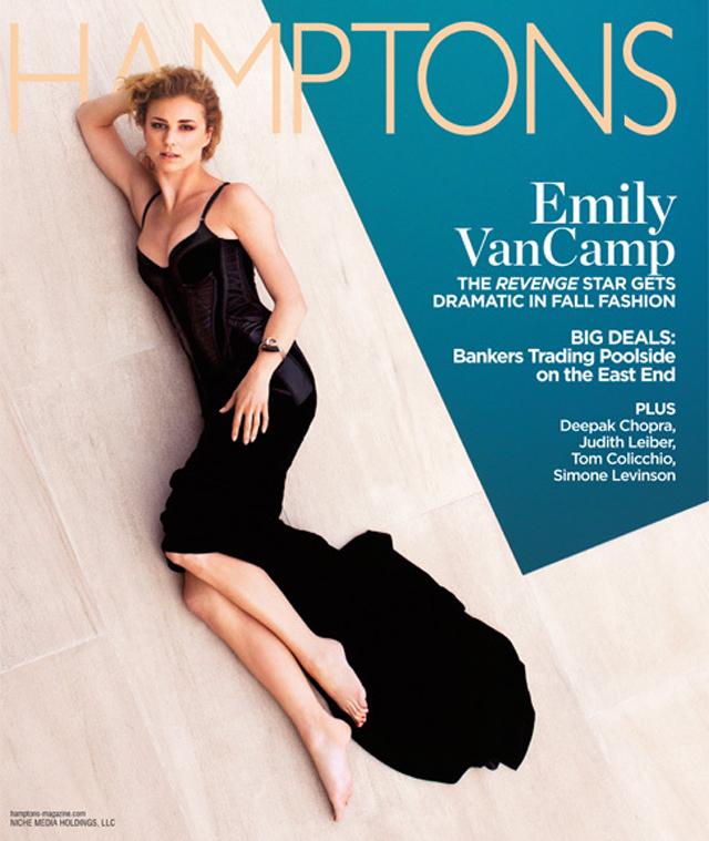 Emily Vancamp Hamptons Magazine