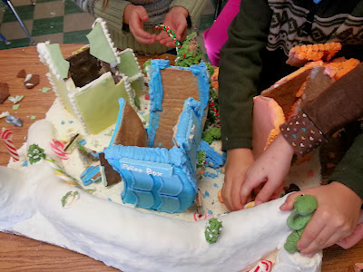 Gingerbread Destruction!