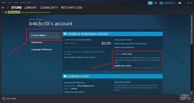 Cara Instal ROE Steam dengan VPN US All Region