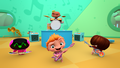 Produção original do Discovery Kids, MINI BEAT POWER ROCKERS estreia na segunda, 28 de agosto; primeiro episódio estará disponível a partir do dia 21 na plataforma Discovery Kids Play! - Divulgação