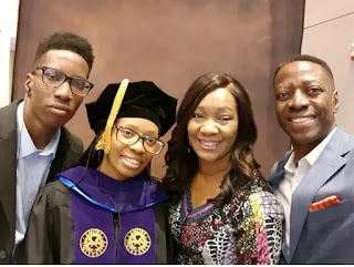 Photo of Pastor Sam Adeyemi's family