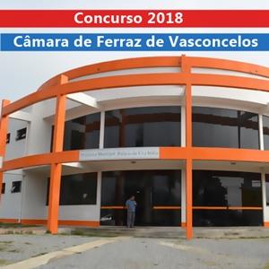 Edital concurso Câmara de Ferraz de Vasconcelos 2018