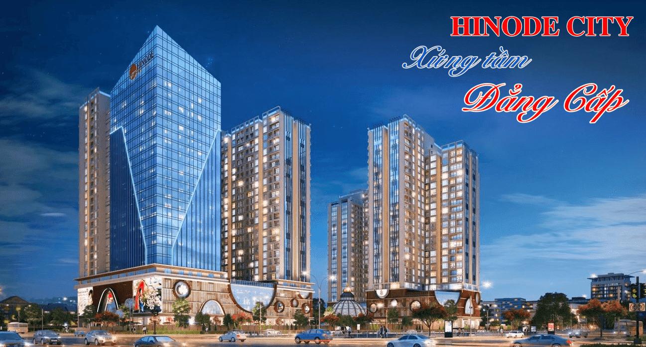 Tổng thể toà căn hộ Hinode City