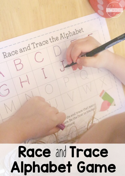 Alphabet Game Printable