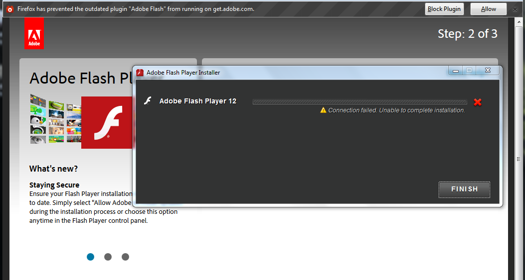 Research open project update on adobe flash player How to start flash player