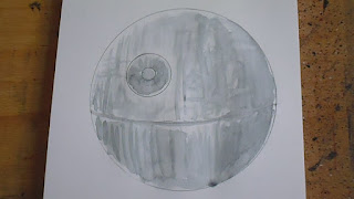 death star drawing