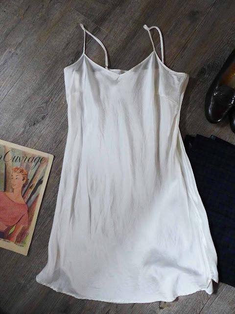 fond de robe en soie