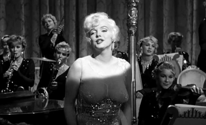 Monroe Dress Some Like It Hot